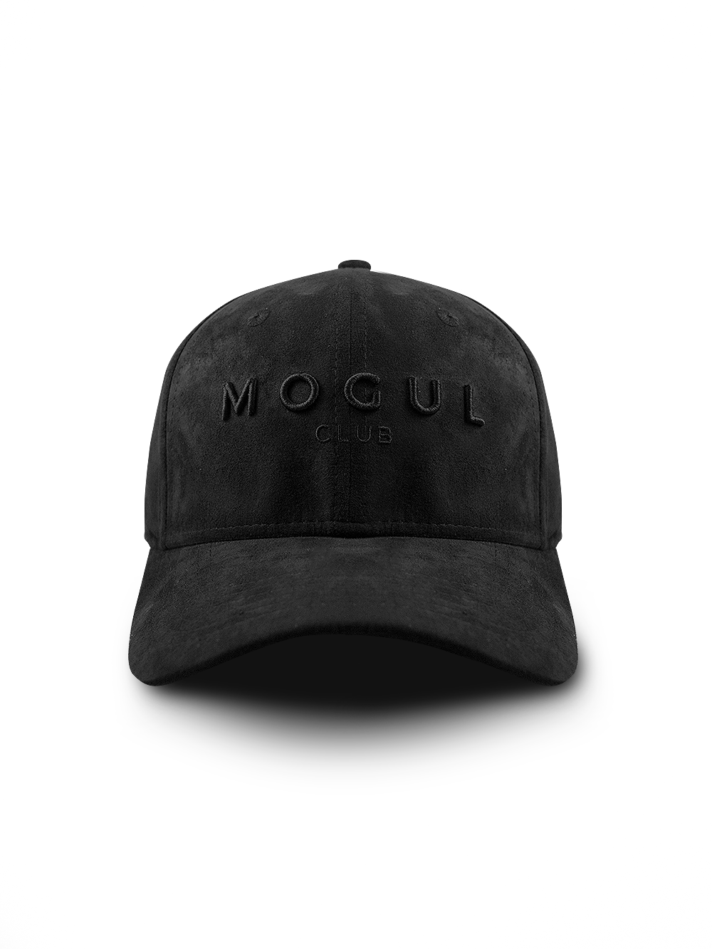 Noir+ Suede Baseball Cap All Black - Mogul Club ab14407f427