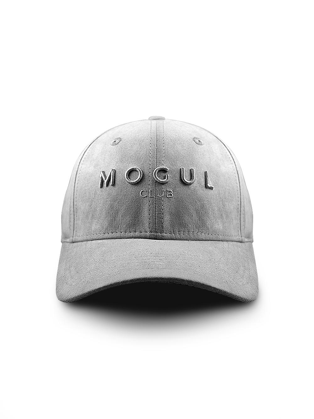 Luxe Suede Baseball Cap Grey - Mogul Club a92645d3213